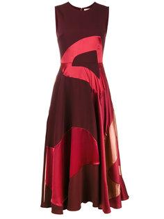 расклешенное платье-миди Keanu Roksanda