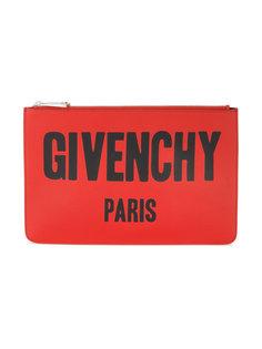 фирменный средний клатч с принтом Givenchy
