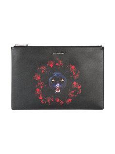 фирменный клатч с жаккардовым принтом Givenchy