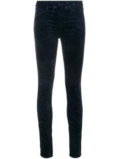 джинсы скинни с бархатной отделкой J Brand