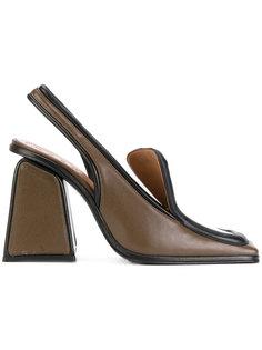 босоножки на массивном каблуке Marni