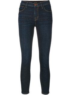 джинсы средней посадки J Brand