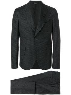 строгий костюм с узором Dolce & Gabbana