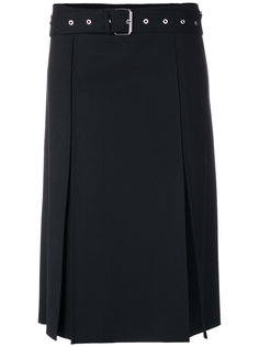 юбка с поясом и разрезами  Helmut Lang