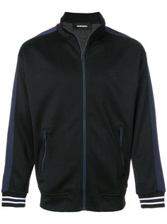 спортивная куртка с контрастными полосками Diesel
