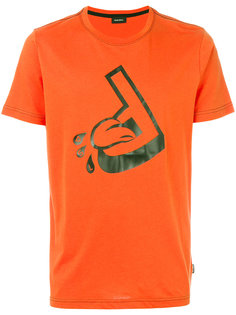 футболка с принтом логотипа Diesel
