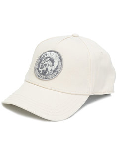 кепка с заплаткой с логотипом Diesel