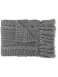 шарф с кисточками Diesel