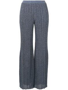 плиссированные брюки с блестками  Missoni