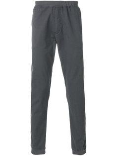 брюки-чинос с заплаткой с логотипом Le Coq Sportif