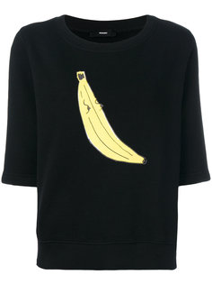 топ с принтом банана  Diesel
