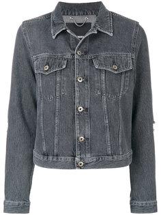 укороченная джинсовая куртка  Diesel