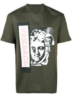 футболка с принтом Medusa  Versace
