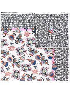 шарф с цветочным принтом Valentino Garavani Valentino