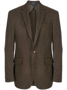 "пиджак с узором ""елочкой"" Polo Ralph Lauren"