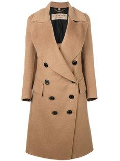 пальто с драпировкой Burberry