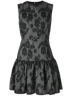кружевное платье мини  Giambattista Valli