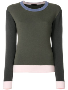 colour-block jumper  Stine Goya