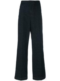 брюки с высокой талией Stella McCartney