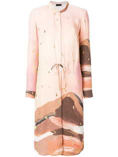 printed shirt dress  Stine Goya