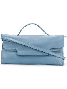 большая сумка на плечо с откидным клапаном Zanellato
