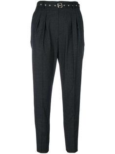зауженные брюки с люверсами на поясе  Iro