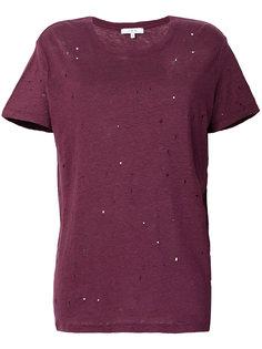 футболка с прорехами  Iro