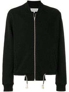 куртка-бомбер с эластичным подолом Maison Margiela