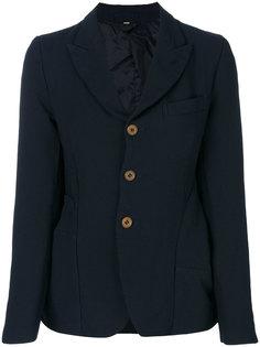 приталенный пиджак на пуговицах Comme Des Garçons