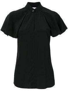 блузка с рукавами с воланами Lanvin