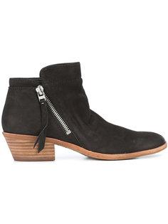 zipped up boots  Sam Edelman