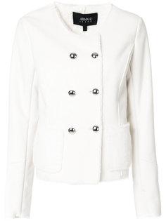 приталенный пиджак на пуговицах  Armani Jeans