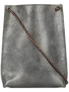metallic phone pouch B May