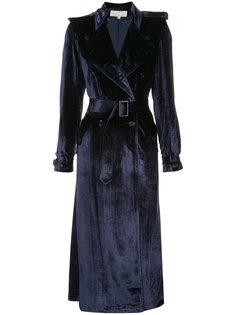 velvet trench coat Fleur Du Mal