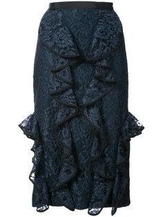 юбка с кружевной оторочкой Alexis
