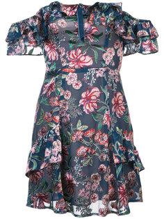floral print short dress For Love And Lemons