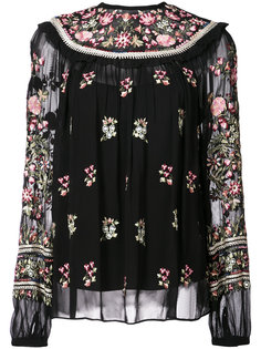 floral embroidered blouse Needle & Thread