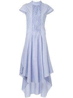 асимметричное платье с завязкой на шее Teija