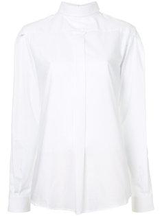 рубашка с застежкой на пуговицы на спине R13