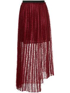 плиссированная кружевная юбка Aula