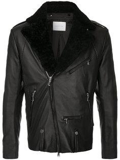 куртка с отделкой из искусственного меха Estnation