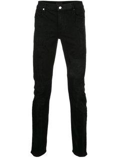 джинсы скинни с потертой отделкой Rta