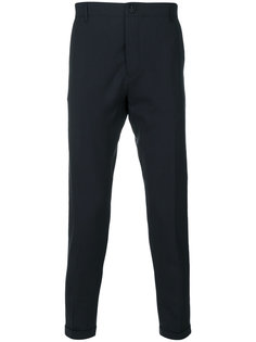 зауженные брюки с задними карманами Closed