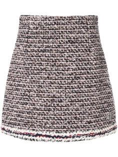 трикотажная юбка мини Moncler Gamme Rouge