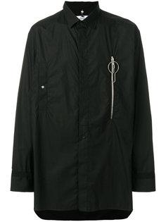 рубашка с карманом на молнии Oamc