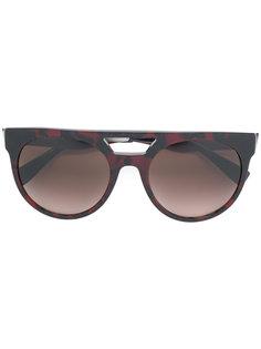 массивные солнцезащитные очки с затемненными линзами Versace