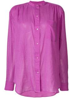 рубашка без воротника  Isabel Marant Étoile