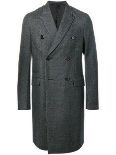 пальто в клетку Prada