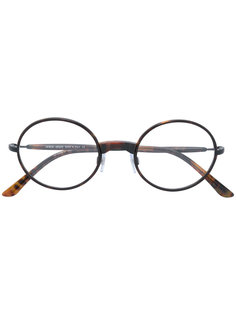 классические круглые очки Giorgio Armani