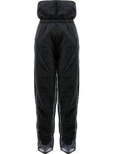 прозрачные многослойные спортивные брюки Cottweiler